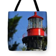 Framed By Trees Tote Bag