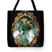 Framed Flowers Tote Bag
