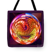 Framed Glass Spiral Tote Bag