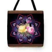 Framed Rose Bouquet Montage Tote Bag