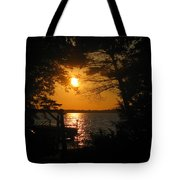 Framed Sunset Tote Bag