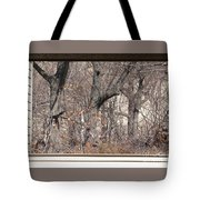 Framing Tangled Dunescape Tote Bag