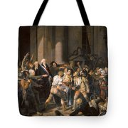 France: Bread Riot, 1793 Tote Bag