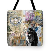 France: Brothel, 1904 Tote Bag