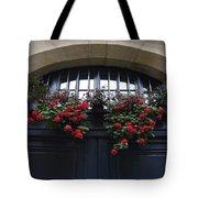 France, Paris, Flower Bouquet Hanging Tote Bag