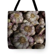 France, Paris Sunday Market Garlic Tote Bag