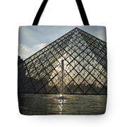 France, Paris The Louvre Museum Tote Bag