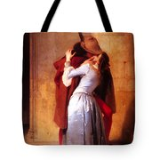 Francesco Hayez Il Bacio Or The Kiss Tote Bag