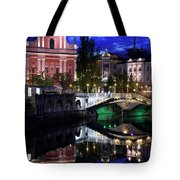 Franciscan Church Of The Annunciation, Gallerija Emporium, Centr Tote Bag