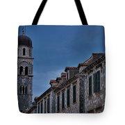 Franciscan Monastery Tower - Dubrovnik Tote Bag