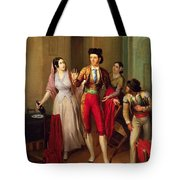 Francisco Montes Tote Bag