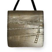 Francisco Sky Line Vintage  Tote Bag