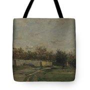 Francois Daubigny   The Garden Wall Tote Bag