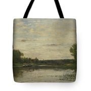 Francois Daubigny   View On The Oise Tote Bag