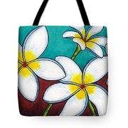 Frangipani Delight Tote Bag