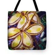 Frangipani In The Tropics  Series 1 Tote Bag