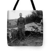 Frank Luke - Ww1 Fighter Ace Tote Bag