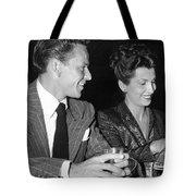 Frank Sinatra And Nancy Tote Bag