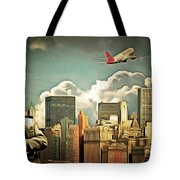 Frank Sinatra Fly Me To The Moon New York 20170506 V3 Tote Bag