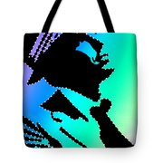 Frank Sinatra In Living Color Tote Bag by Robert Margetts