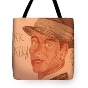 Frank Sinatra - The Voice Tote Bag