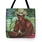 Frank The Watermelon Man Tote Bag