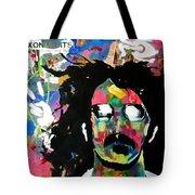 Frank Zappa Pop Art Tote Bag