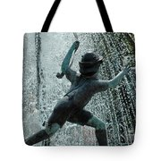 Frankenmuth Fountain Boy Tote Bag