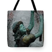 Frankenmuth Fountain Girl Tote Bag