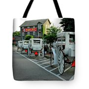 Frankenmuth Michigan Carriages At The Mill Tote Bag