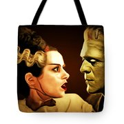 Frankenstein And The Bride I Have Love In Me The Likes Of Which You Can Scarcely Imagine 20170407 Tote Bag