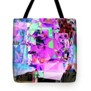 Frankenstein In Abstract Cubism 20170407 Tote Bag