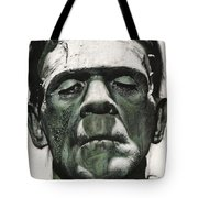 Frankenstein Portrait Tote Bag