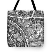 Frankfurt Am Main, 1628 Tote Bag