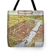 Frankfurt, Germany, 1572 Tote Bag