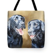 Frankie And Ross Tote Bag