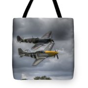 Frankie And Spitfire Tote Bag