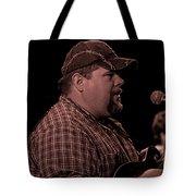 Frankie Ballowe In Sepia 8742s  Tote Bag