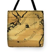 Franklin Chart, 1786 Tote Bag