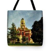 Franklin County Courthouse - Hampton Iowa Tote Bag