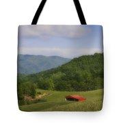 Franklin County Virginia Red Barn Tote Bag by Teresa Mucha