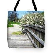 Franklin Park Conservatory Footbridge Tote Bag