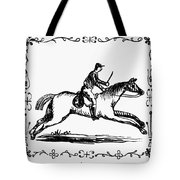 Franklin: Post Rider, 1775 Tote Bag