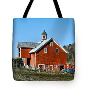 Franklin Spring Barn Tote Bag