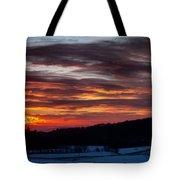Franklin Sunset  Tote Bag