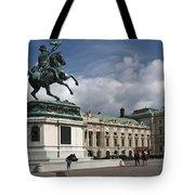 Franz Joseph Equestrian Statue Tote Bag