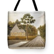 Fraser  Charles   Meeting House In Prince Williams Parish From Untitled Sketchbook Tote Bag