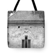 Frauenzimmerbau Crest B W Tote Bag