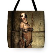 Freaks - The Second Girl In The Basment Tote Bag