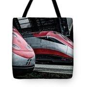 Freccia Rossa Trains. Tote Bag